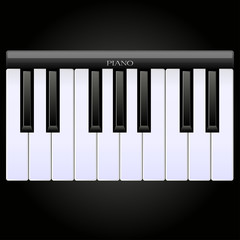 Classical piano icon