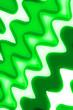 canvas print picture - hellgrün gewellter Hintergrund