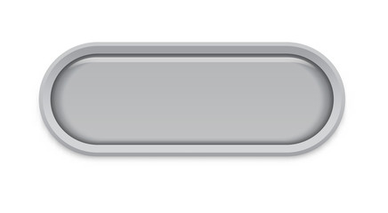 the oval glossy button