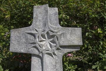 Grabkreuz Dornenkrone