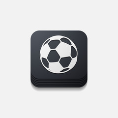 square button: ball