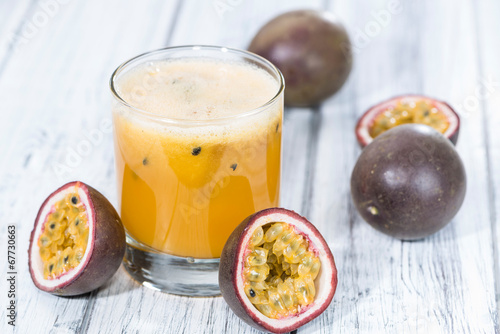 Fresh made Maracuja Juice