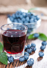 Blueberry Liqueur Shot
