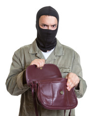 Räuber mit Handtasche