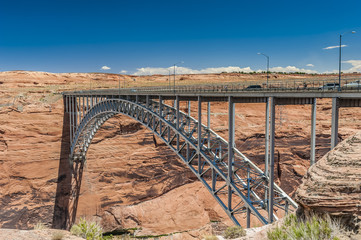 Glen Canyon Dam.