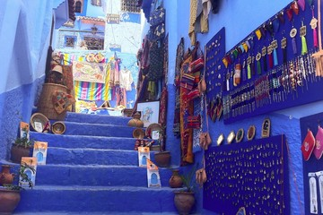 The medina of Chefchaouen, Morocco
