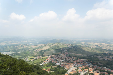 Panorama collinare