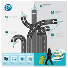 Travel And Journey Business Infographic
