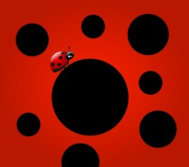 Ladybugs background