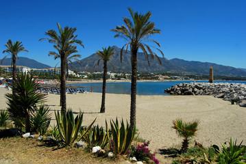 Playa Río Verde, Puerto Banús, Marbella