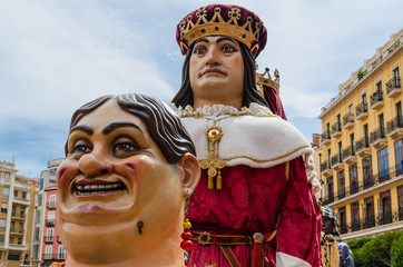 Giants and Big Heads parade