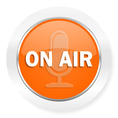on air orange computer icon