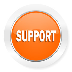 support orange computer icon