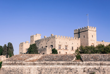 Rhodes Island Greece Knights Grand Master Palace Castello