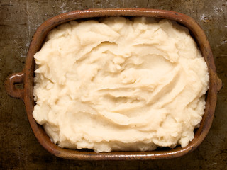 rustic mash potato