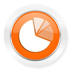 diagram orange computer icon