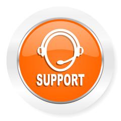 support orange computer icon