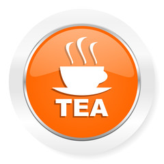 tea orange computer icon