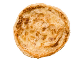 indian roti prata isolated