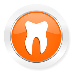 tooth orange computer icon