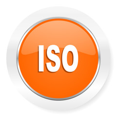 iso orange computer icon