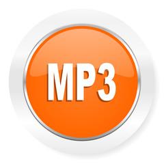 mp3 orange computer icon