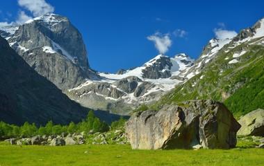 Caucasus in summer