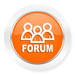 forum orange computer icon