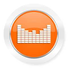 sound orange computer icon