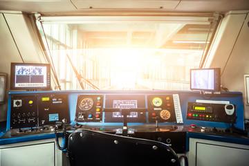 City subway cockpit