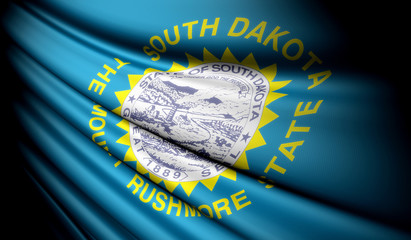 Flag of South Dakota (USA)