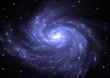 Zdjęcia na płótnie, fototapety, obrazy : Star field in space and a nebulae