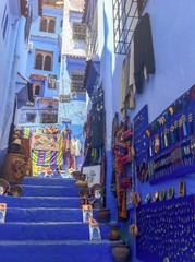 The ancient medina of Chefchaouen, Morocco