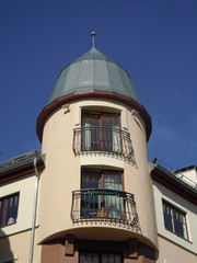 Decorative turret