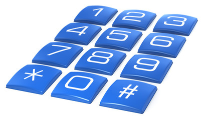 Telephone Keypad