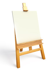 Easel illustration