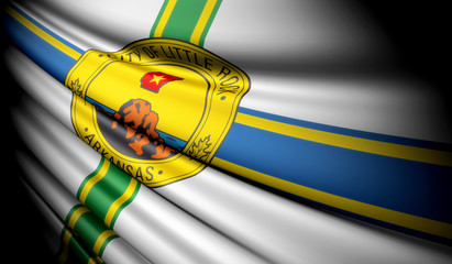 Flag of Little Rock, Arkansas (USA)