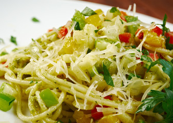vermicelli with vegetables