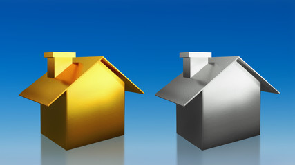 investment gold and silver house compare  sky
