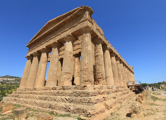 ancient Agrigento temple, Southern Italy