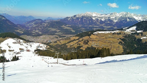 canvas print picture Kaisergebirge