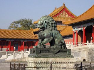 Statues of the Forbidden City