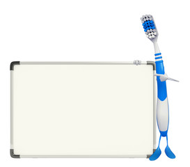Toothbrush Character with display board