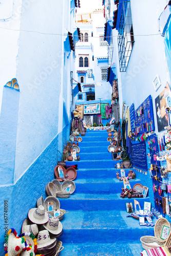 Tuinposter Marokko Blue