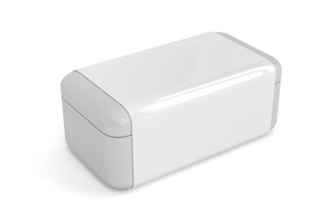White plastic box