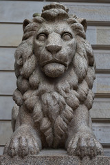 Hamburg Town Hall Lion