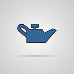 container of engine oil icon