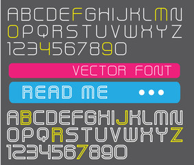 vector font collection