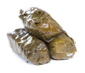 Isolated Dolmades