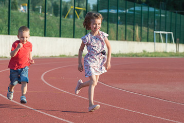 childrens  running